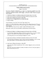Estratto Assemblea Ordinaria Soci del 13.04.2019; Stato patrimoniale e Conto economico 2018; Rendiconto finanziario 2018; Bilancio di previsione 2019