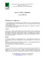 Documento sulla Vita Indipendente: A cura di DPI-Italia
